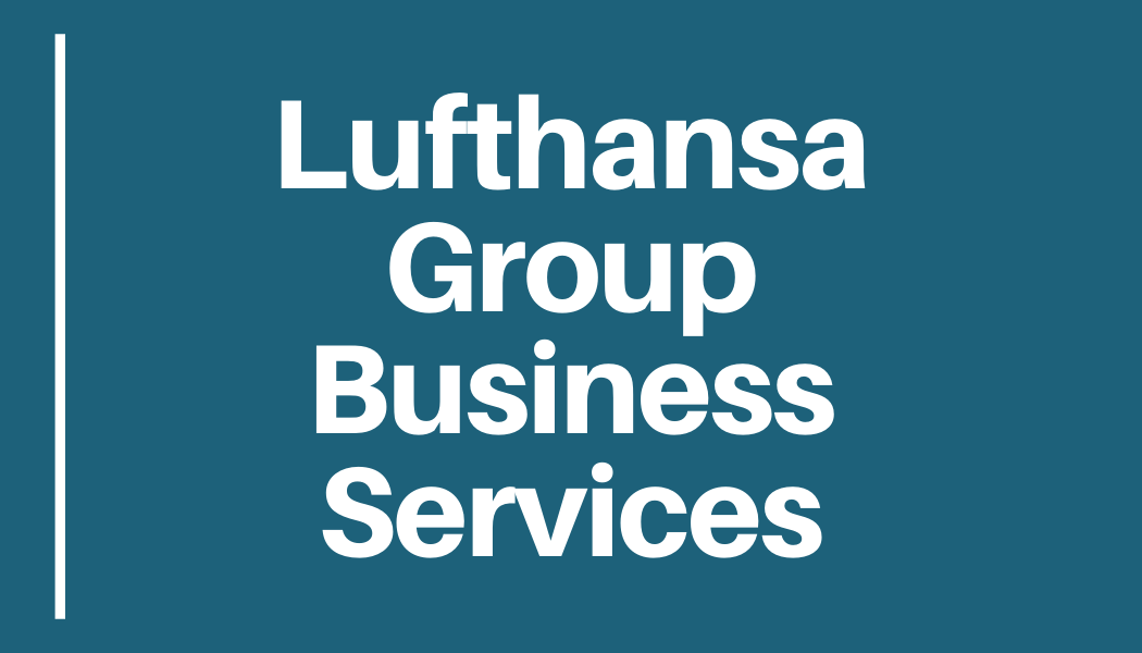 Lufthansa Group Business Services (31.03.2020, 9:00-10:00)